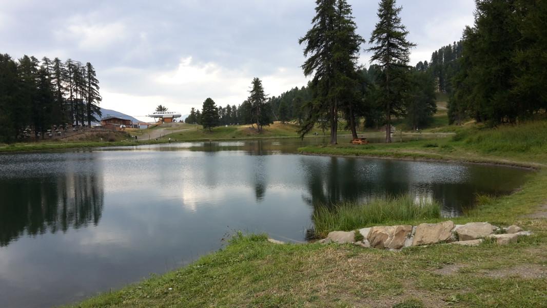 Un lac à Crevoux
