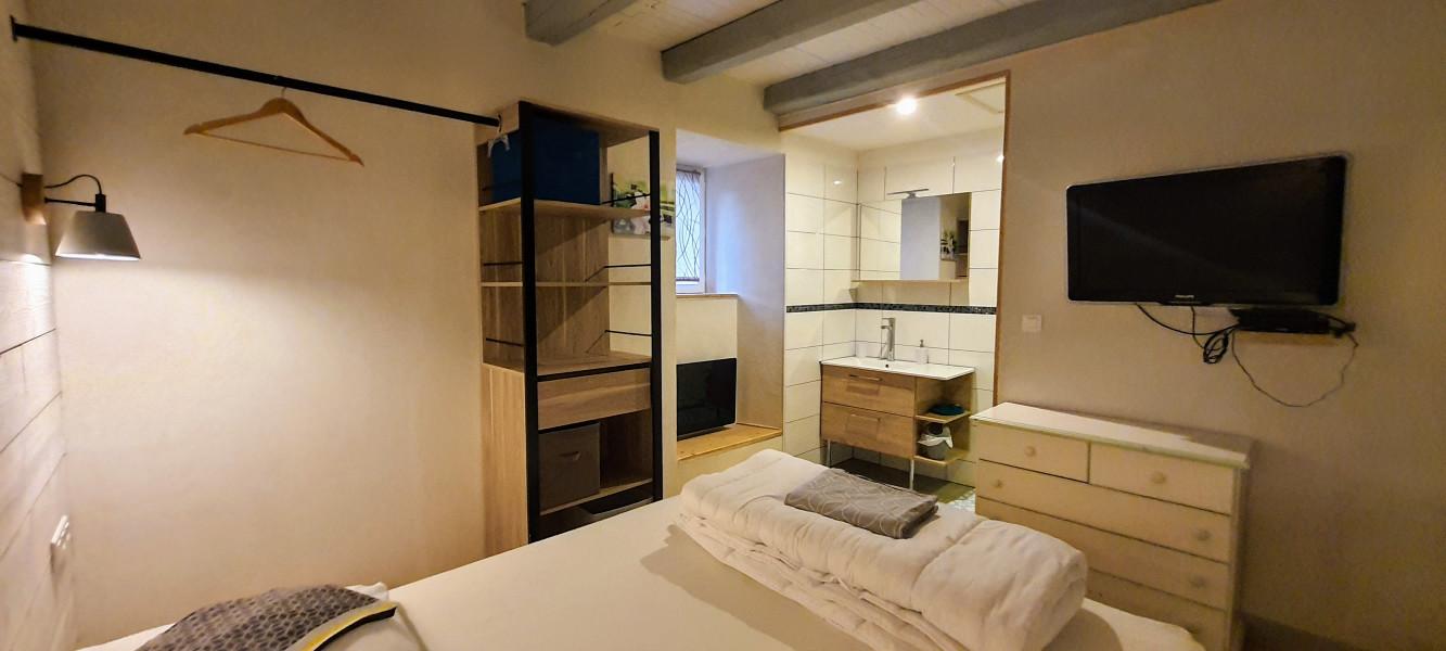 chambre parentale avec douche
